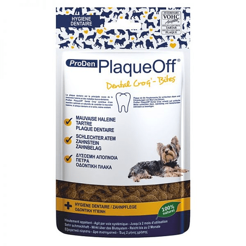 Proden PlaqueOff® Croq´ Bites PERRO 60 grs