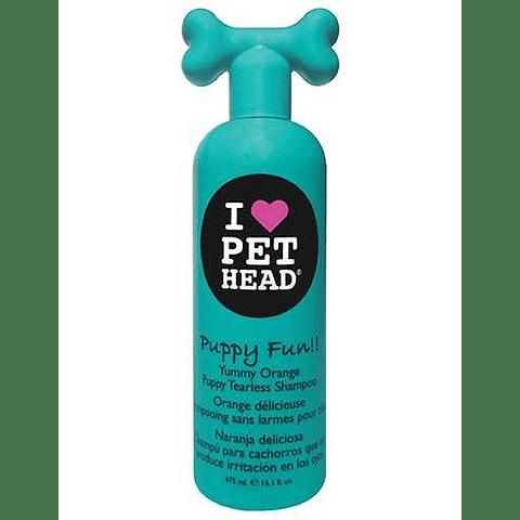 I Love Pet Head PUPPY FUN!! TEARLESS SHAMPOO 475ml