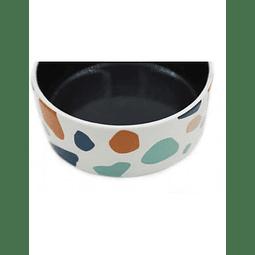 Pet Bowl Cerámica Colores 16,4 cim diámetro
