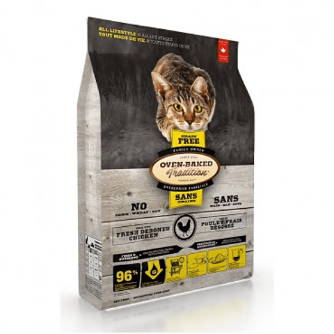 OVEN-BAKED GRAIN FREE CAT-CHICKEN