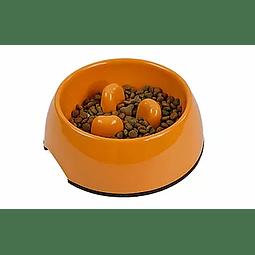 Mascan Plato anti-ahogo Naranjo