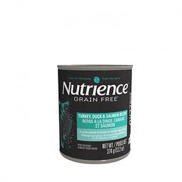Nutrience Grain Free Pato Pavo Salmón 374 grs
