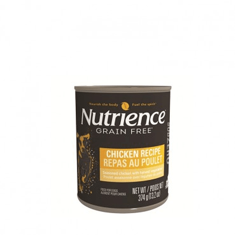 Nutrience Grain Free Pollo 374 grs