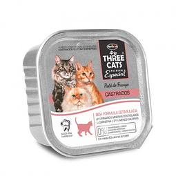 Three Cats Castrados