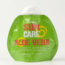 Gel Aftersun refrescante para rostro y cuerpo Aloe Vera 100 ml