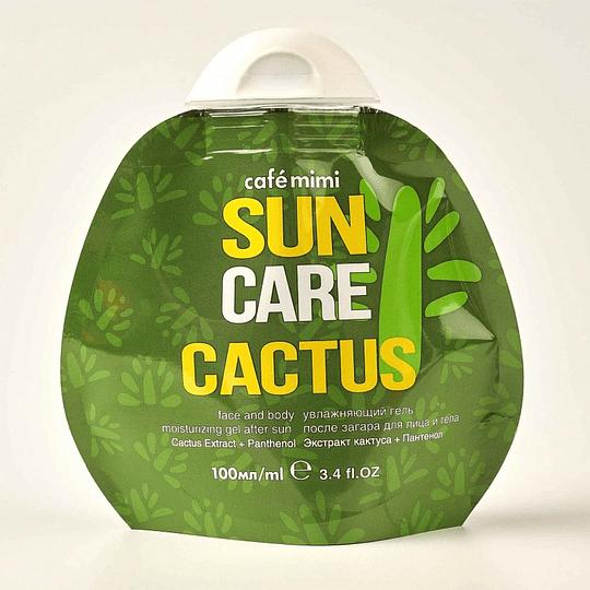 Gel Aftersun hidratante para rostro y cuerpo Cactus 100 ml