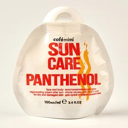 Crema Aftersun regeneradora con Pantenol para rostro y cuerpo 100 ml