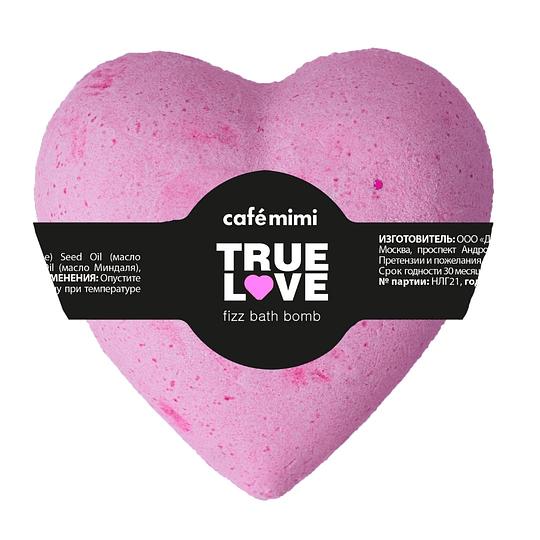Géiser de baño Amor verdadero (rosado) 115 gr