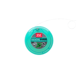 Hilo Dental SPLAT Extrafino con fibras de plata 30m