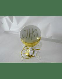 C17302- Cálice dourado decorado com hóstia gigante