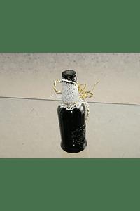 C6157 - Garrafinha vinho do porto decorada com clave de sol