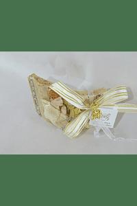 C17318 Pisa papeis curvo menino comunhão decorado