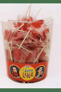 H2006 Chupa coração vermelho
