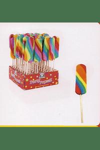 H4015 Lolly língua arco iris