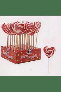 H4104 Lolly Coração doce