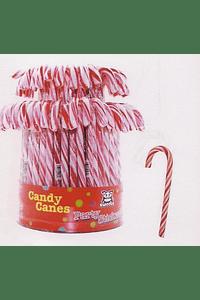 H6008 Lolly bengala vermelho branco grande