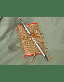 C6140-Baralho de cartas decorado com caneta
