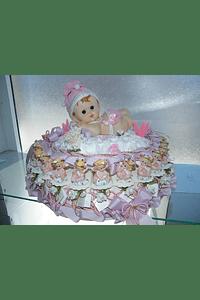 C6002 - Estrutura de bolo de 2 andares