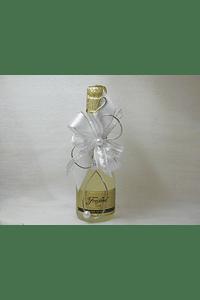 C14023 - Garrafa Vinho Espumante decorada