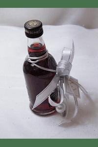 C15603 - Garrafa de vinho do porto decorada em prata com arame