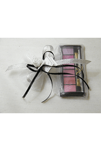 C15018 - Saco com sombra nos tons rosa para olhos