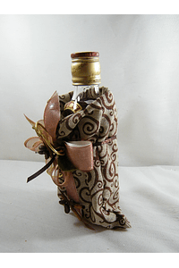 F15019 - Garrafa de whisky Red Label em saco de tecido