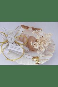 C17306 - Concha com buzio decorada comunhão