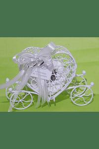 C18009 - Coche branco decorado