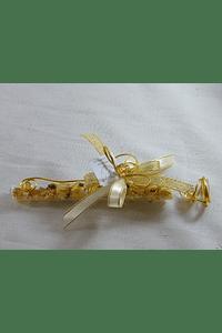 C15000 - Tubo de ensaio com cristais e ervas