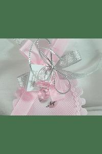 C15252 - Babete em tecido com sabonete e chupeta