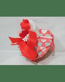 L2005 - Caixa coração vermelha