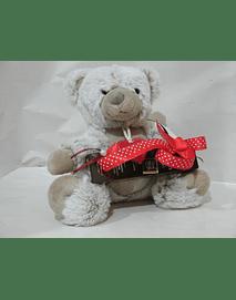 L2011 - Ursinho peluche pequeno com embalagem napolitanas
