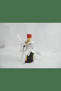 C16602 - Garrafa Licor Beirão decorado com noivos