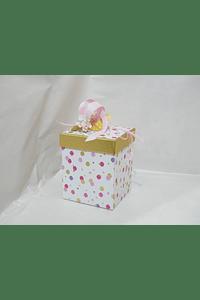 P20308 - Caixa cartão cubo media