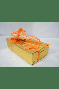 P20105 - Ballotin GUDRUN decorado cor de laranja