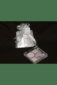 C13034 - Saco organza com sombra decorada com brilhantes