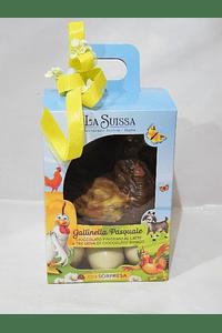 P20013 - Caixa cartão com galinha e ovos chocolate