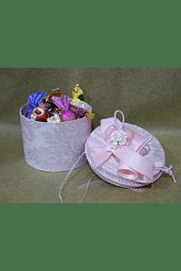M2008 - Caixa pequena Royal decorada