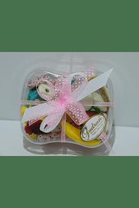 FA2015 - Caixa acrilica decorada cor de rosa