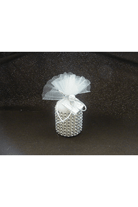 C13037 - Saco com vela decorado com brilhantes