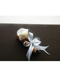 C13039 - Pau de canela decorado tendencia mar