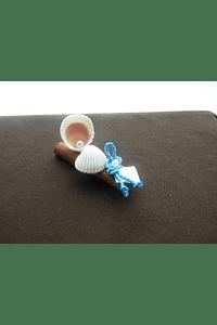 C13040 - Paus canela decorado com conchas