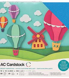 AC Cardstock Bright Pack 12×12