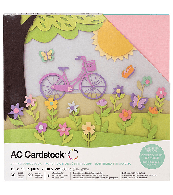 AC Cardstock Spring Pack 12×12