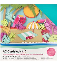AC Cardstock Tropical Pack 12×12
