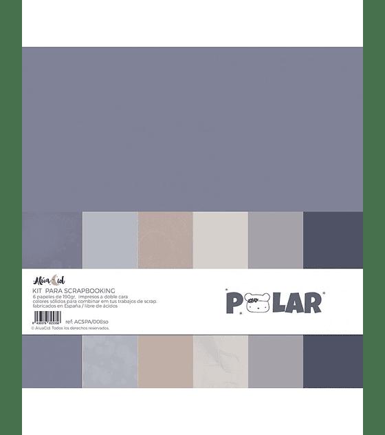 Kit de Papeles Sólidos Polar