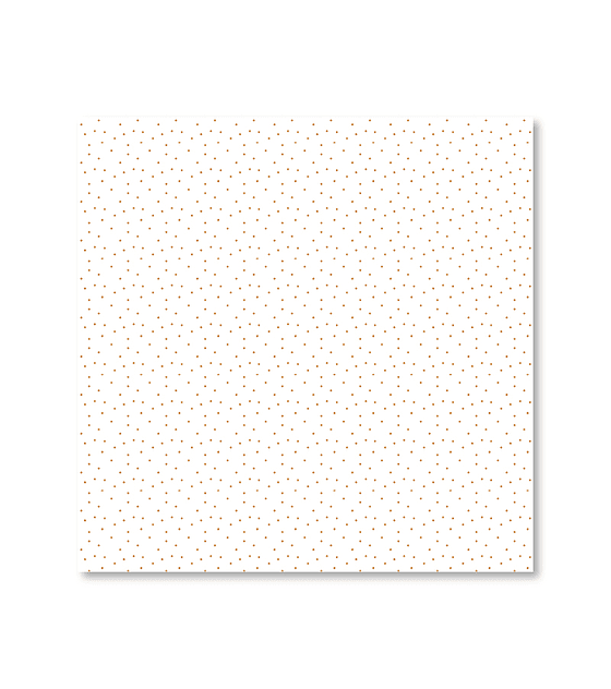 Vellum impreso en foil puntitos dorados