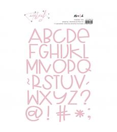 Troquel Austral letras