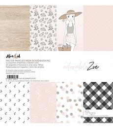 Block papeles adorable Zoe 2.0 30 x 30
