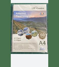 Papel Adhesivo Brillane LEE centro A4